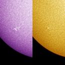 Sol - SW Corner - AR2753 - 25 December 2019 1230 CST (CaK & Ha),                                Dennis Carmody