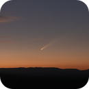 Comet C/2020 F3 NEOWISE at Sunset,                                elbee