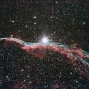 NGC 6960 - Eastern Veil nebula,                                Thorsten - DJ6ET