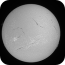 10 March 2015 solar disc animation,                                Andy Devey