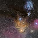 Rho Ophiuchus cloud complex,                                  Paul May