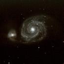M51: Whirlpool Galaxy,                                jerryyyyy