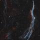 West Veil Nebula - HOO Palette,                                Yuntao Lu