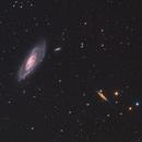 Messier 106 and NGC 4217,                                Kasra Karimi