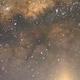 Milky Way over the moon,                                Isaac Tresens