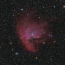 NGC 281 Pacman nebula LRGBHa,                                Frank Rauschenbach