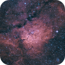 NGC6820 and NGC 6823 - Emssion Nebula and open cluster   Vulpecula,                                dbenji