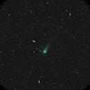 Two views of Comet C/2017 T2 PANSTARRS in an Ocean of Galaxies,                                Terry Hancock