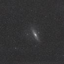 La galaxie d'Andromède M31,                                Sébastien Chaline