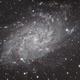 M33 - Galaxie du Triangle,                                Vincent Tardieu