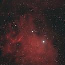 IC 405 The Flaming Star Nebula,                                Elmiko