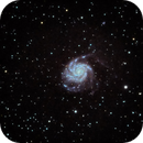 M101 Processed by Ivo Jagers using Star Tools,                                Tim Scott