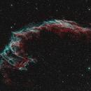 NGC 6992 Banda estrecha paleta HOO,                                Jose Luis Ricote