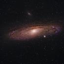 M31 - Andromeda Galaxy,                                David McGarvey