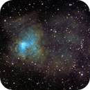 NGC 1491 - The Fossil Footprint Nebula (LBN 704 or Sh2-206),                                Crazy Owl Photography