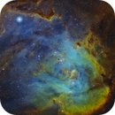 Running Chicken Nebula,                                backyardastrokiwi