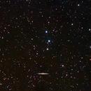 NGC 5907 galaxy region in Draco,                                Nikola Nikolov