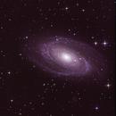 Bodes and Cigar galaxies,                                Trey W