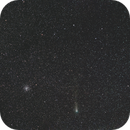 Comet 21P/Giacobini-Zinner and Open Cluster in Auriga,                                Wolfgang Zimmermann