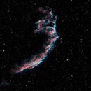 Eastern Veil Nebula in HOO,                                AstroForum