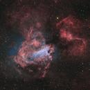 M17 Omega Nebula HOO+SHO(30%) +RGB(Star),                                Masahiro Takahashi