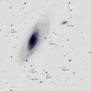 Messier 106 inversé,                                papilain