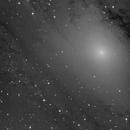 Messier 31 -  dark nebulae and Starformation next to the core,                                Günther Eder
