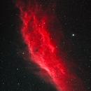 California Nebula  (NGC 1499) - HSS (mosaic),                                dswtan