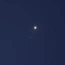 Venus and Pleiadi,                                Enrico Maschio