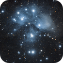Pleiades Star Cluster,                                Tim Richter