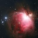 M42 Orion Nebula,                                AstroBadger
