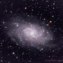 Messier 33 (M33) The Triangulum Galaxy,                                astrobillbinMontana