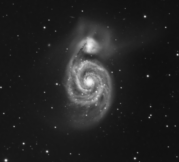 """Cosmic jacuzzi - Messier 51"",                                carl0s"