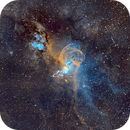 NGC 3579, Hubble Palette,                                Marcelof
