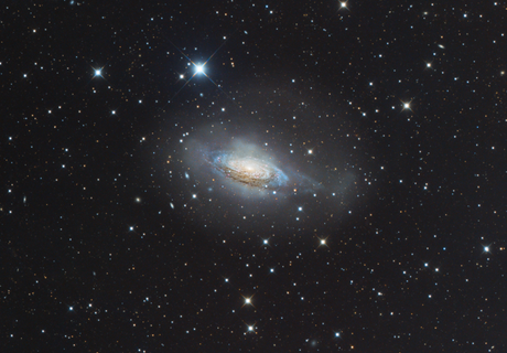 NGC 3521, The Bubble Galaxy,                                Patrick Dufour