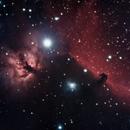 Horsehead and Flame Nebula,                                Bill in Nova Scotia