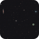 Owl nebula (M97) and Surfboard galaxy (M108),                                Christiaan Berger
