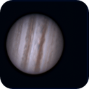 Forty minute rotation of Jupiter,                                Marlon