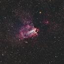 M17, The Omega Nebula, Close Crop,                                doug0013