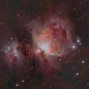 M42 and Running Man Nebula HDR,                                Aaron