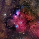 NGC6559 - Close up,                                Roberto Colombari