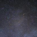 Meteor trail animation,                                Samuli Ikäheimo