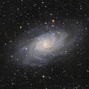 The Triangulum galaxy - Messier 33,                                Rafael Schmall