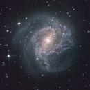 M83 - The Southern Pinwheel Galaxy,                                weathermon