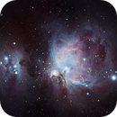 M42: Great Nebula in Orion,                                Claustonberry