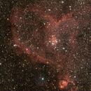 IC 1805, la nébuleuse du Coeur,                                Philastro