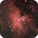 Eagle Nebula,                                humanoids