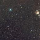 Orion Nebula to Witch Head Nebula,                                Michael Finan