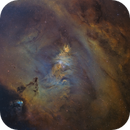Cone Nebula in SHO,                                Sendhil Chinnasamy