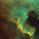 North America Nebula - Hubble Palette,                                Jay Kilby